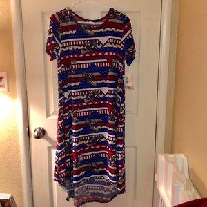 Medium NWT Lularoe Carly dress